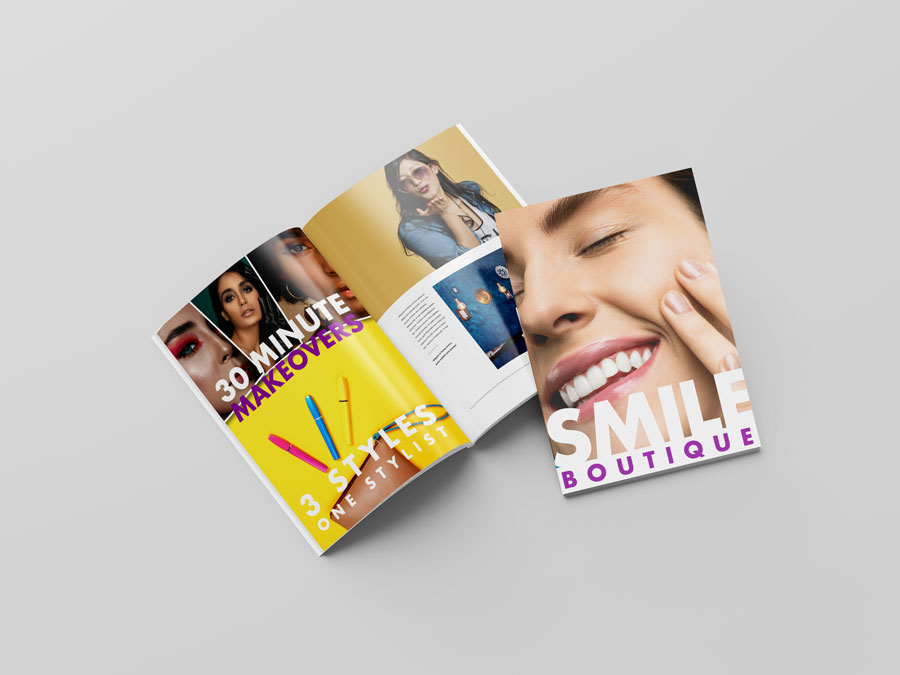 Brochures printing and design